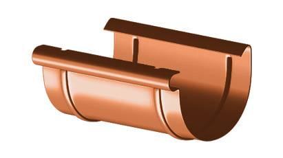 Водосточные системы ПВХ муфта 125 ммм