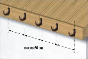 Водосточные системы ПВХ gamrat крюки для желоба схема креплений